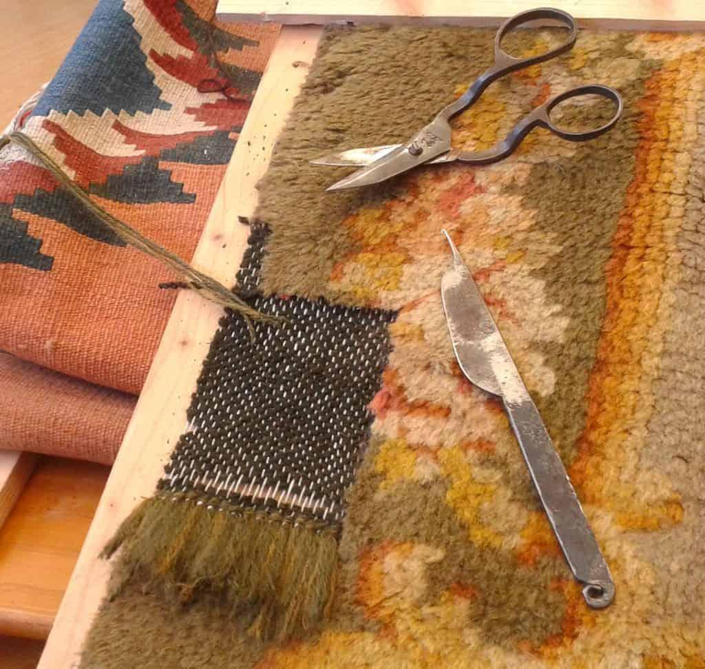 restauro tappeti antichi