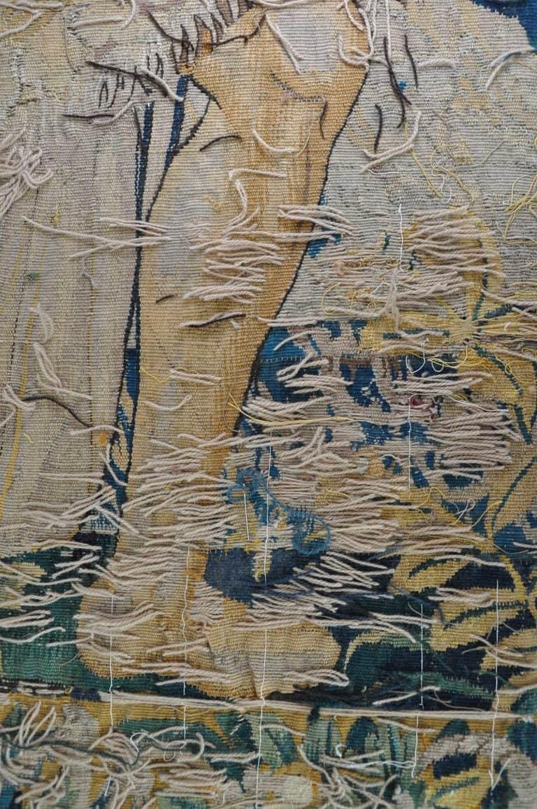 restauro aubusson arazzi Asia Tappeti