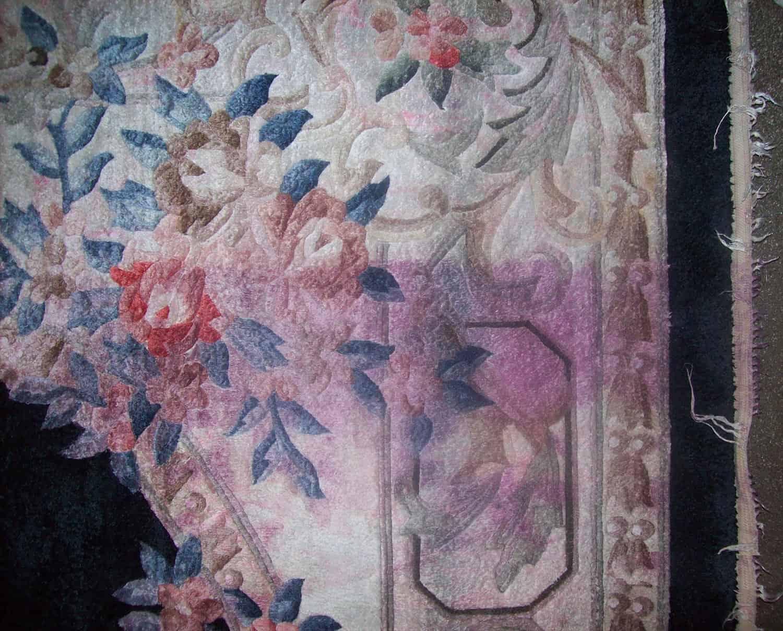 recupero colori danneggiati tappeti